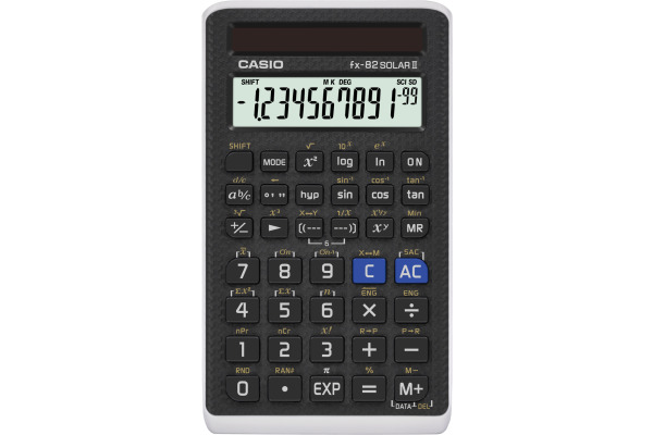 CASIO Taschenrechner FX82SOLAR Solar II