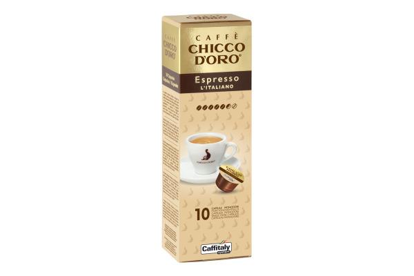 CHICCO DORO Kaffee Caffitaly 802017 Espresso Italiano 10...