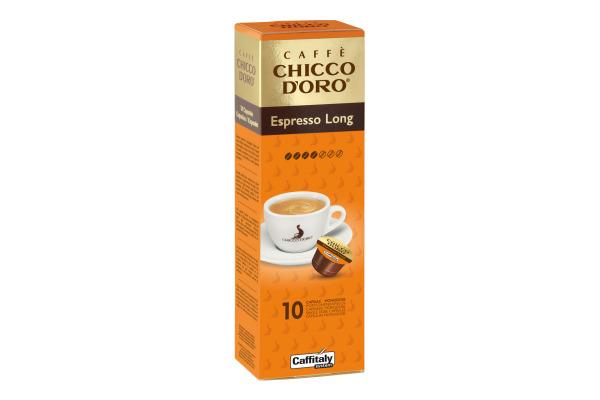 CHICCO DORO Kaffee Caffitaly 802031 Espresso Long 10...