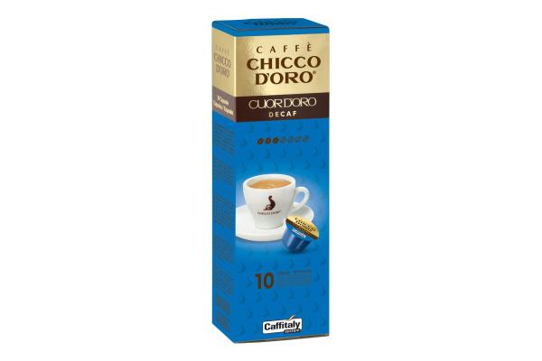 CHICCO DORO Kaffee Caffitaly 802284 Cuor dOro Decaf 10...