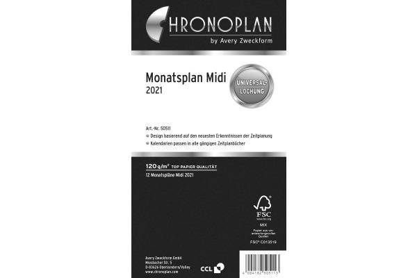 CHRONOPLA Monatsplan 2021 50511Z.21