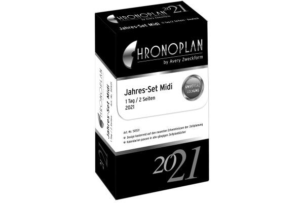 CHRONOPLA Jahres-Set 2021 50531Z.21 1T/1S