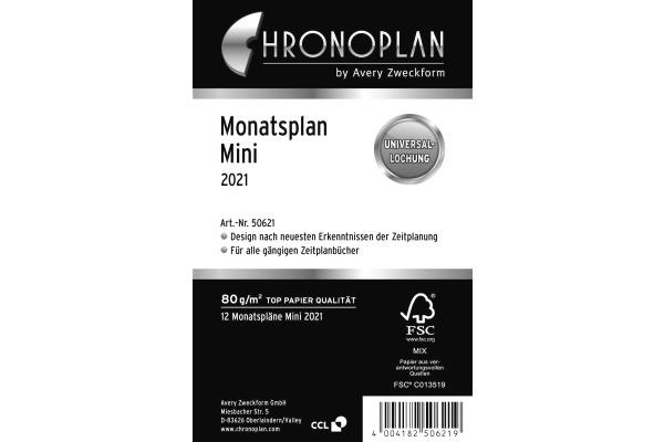 CHRONOPLA Monatsplan 2021 50621Z.21