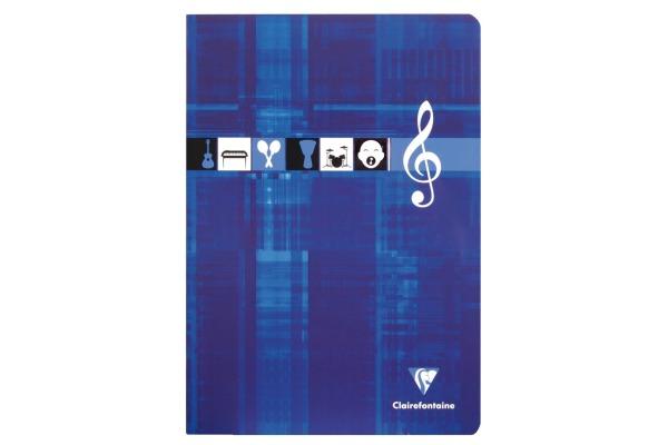 CLAIREFON Musikheft A4 3114 weiss 24 Blatt