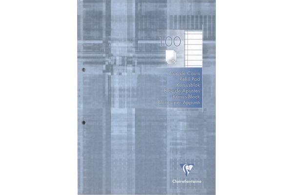 CLAIREFON Ringbuchblock A4 5814 liniert 100 Blatt
