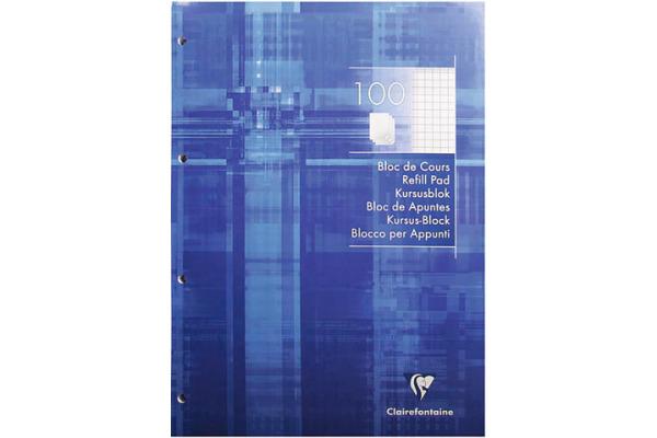 CLAIREFON Ringbuchblock A4 5816 5mm 100 Blatt
