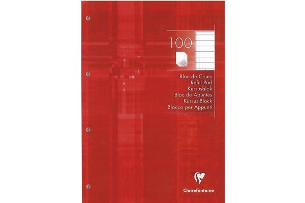 CLAIREFON Ringbuchblock A4 5818 liniert 100 Blatt