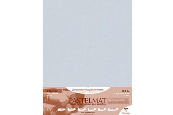CLAIREFON PASTELMAT Papier A2+ 96020C hellgrau 5 Blatt