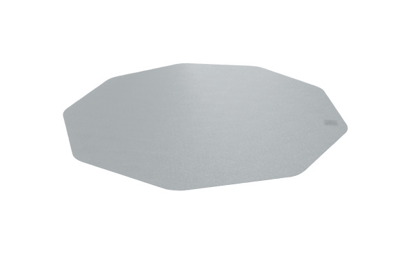 CLEARTEX Bodenschutzmatte Polycarbonat FC1210010 harte Böden 96x98 klar