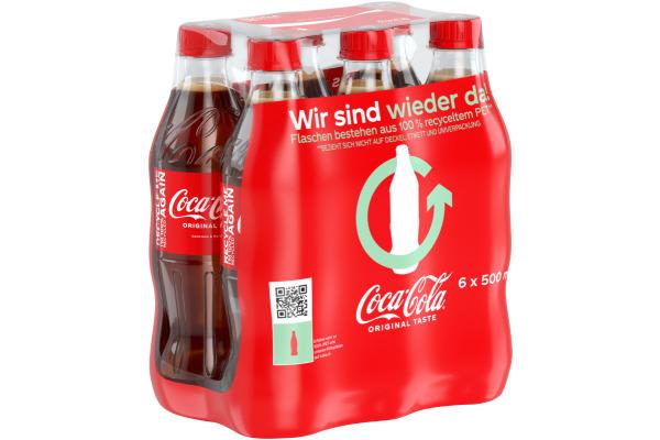 COCA COLA Coca Cola 45cl Pet 8242 6 Stück