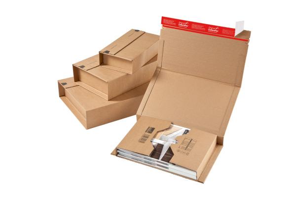 COLOMPAC Emballage univ. 2053507 330x270x80mm brun 20 pcs.