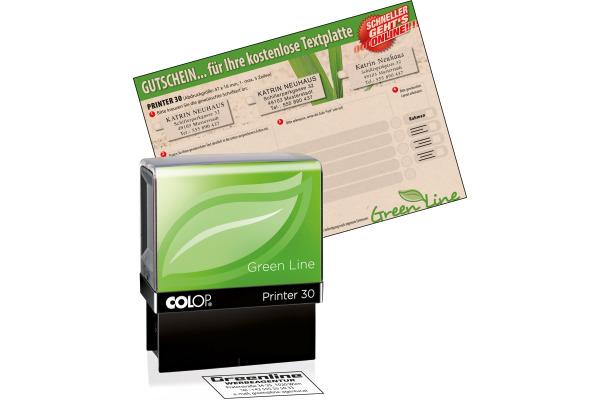 COLOP Mehrtextstempel 30 GL 5 Zeilen 18x47mm