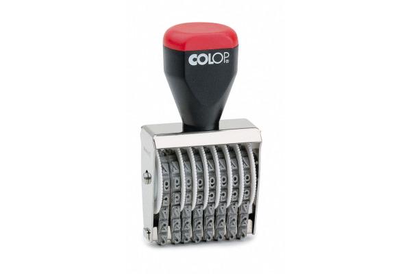 COLOP Ziffernstempel 4008 8-stellig