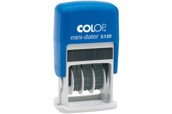 COLOP Datumstempel S120 I 4mm Italienisch