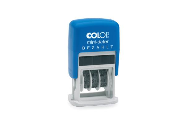COLOP Datumstempel Bezahlt S160L2 D 4mm D
