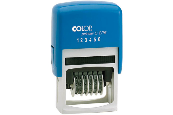 COLOP Nummernstempel S226 6-stellig 4mm