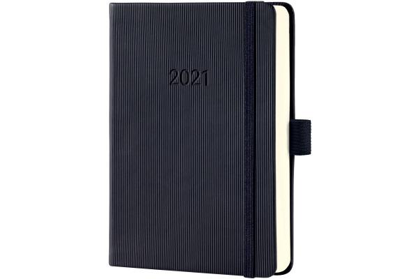CONCEPTUM Tageskalender 2021 C2111 black ca. A6