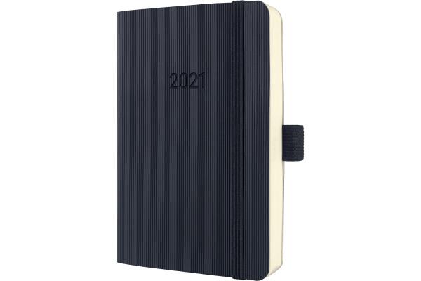 CONCEPTUM Tageskalender 2021 C2121 black ca. A6