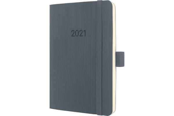 CONCEPTUM Wochenkalender 2021 C2137 dark grey ca. A6