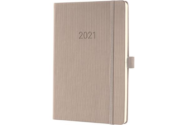 CONCEPTUM Wochenkalender 2021 C2160 light grey ca. A5