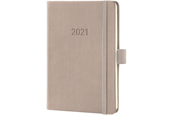 CONCEPTUM Wochenkalender 2021 C2161 light grey ca. A6