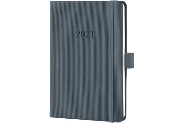CONCEPTUM Wochenkalender 2021 C2167 dark grey ca. A6