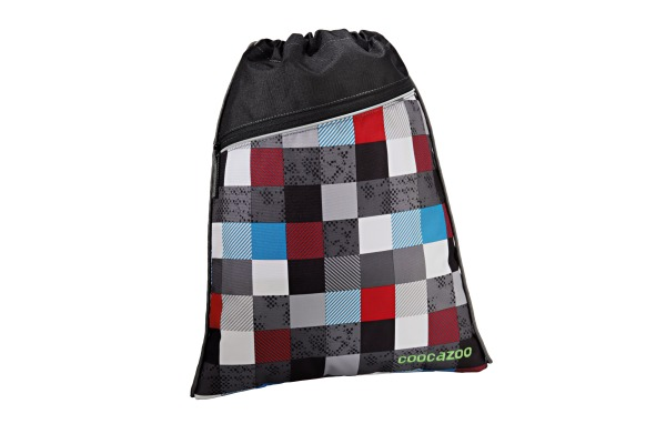 COOCAZOO Sportbeutel RocketPocket 129935 Checkmate Blue Red
