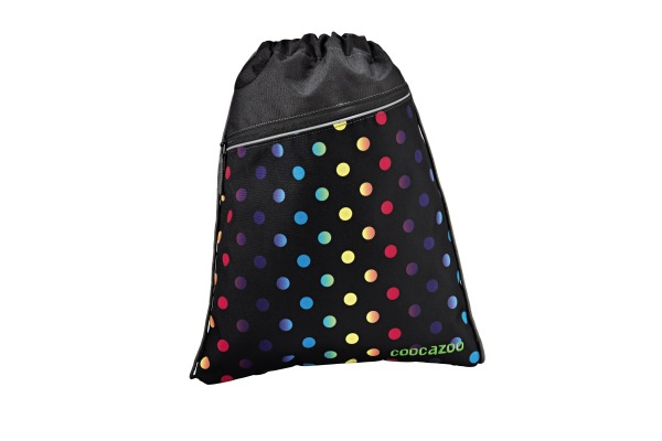 COOCAZOO Sportbeutel RocketPocket 129938 Magic Polka Colorful