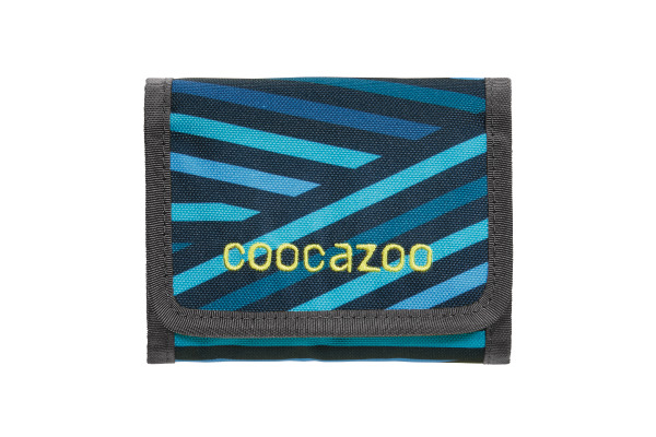 COOCAZOO Portemonnaie Cashdash 183895 Zebra Stripe Blue