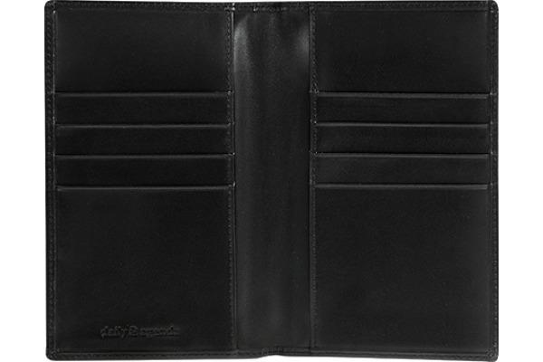 DAILY Lederhülle 111 8,7x15,3cm schwarz