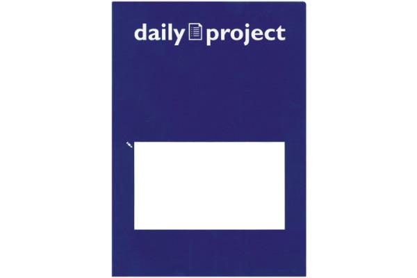 DAILY Organisationsmappen Daily A4 256570 blau 3 Stück