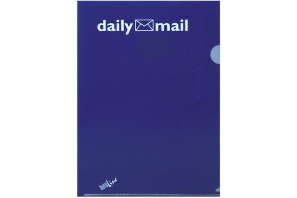 DAILY Organisationsmappen Daily A4 603450 blau 3 Stück
