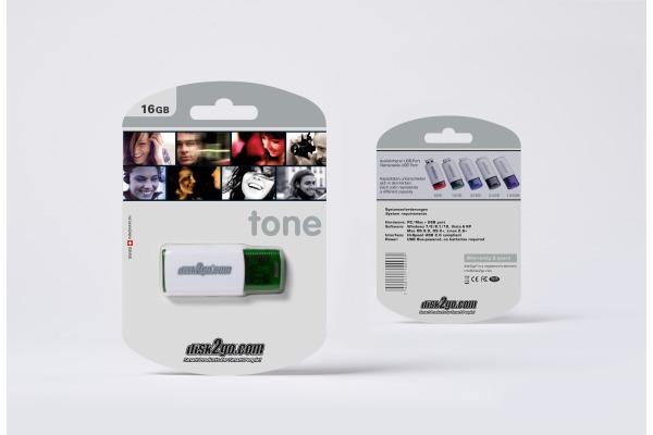 DISK2GO USB-Stick tone 2.0 16GB 30006101