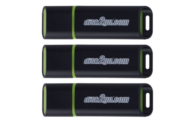 DISK2GO USB-Stick passion 2.0 16GB 30006496 USB 2.0 3 Pack