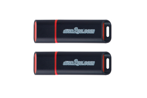 DISK2GO USB-Stick passion 2.0 8GB 30006571 USB 2.0 double pack
