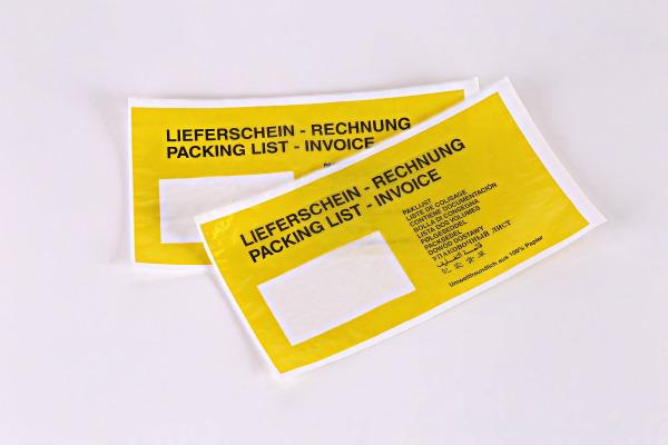 DOCUFIX Dokumententasche Graspapier 2FHDP335212 130x240mm...