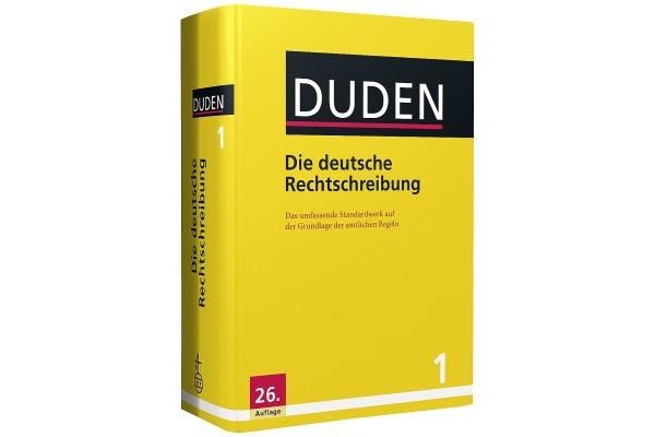 DUDEN Band 1 411040186 Die Deutsche Rechtschreibung