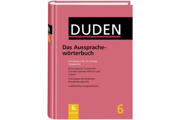DUDEN Duden Band 6 411040674 Aussprache