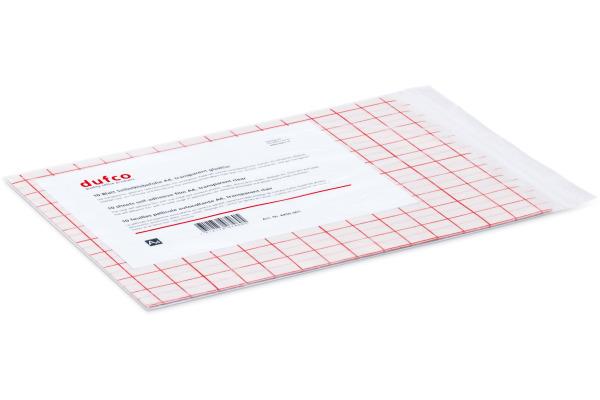 DUFCO Selbstklebefolie A4 6450.001 glasklar glossy, PVC, 10 Bl.