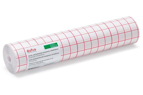 DUFCO Selbstklebefolie 30x2500cm 6452.001 glasklar glänzend, PVC
