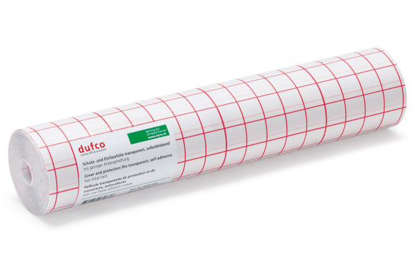 DUFCO Selbstklebefolie 35x2500cm 6453.001 glasklar glänzend, PVC