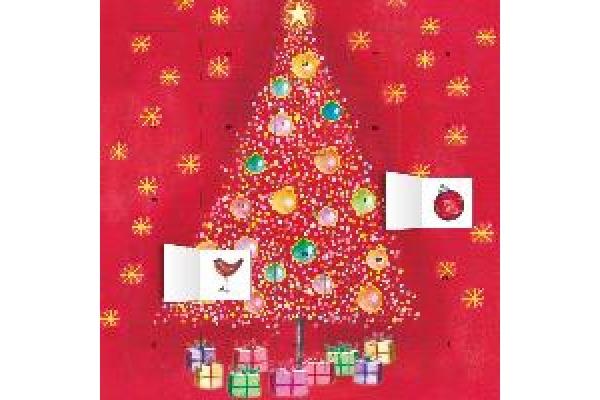 DUMONT Advent Oh Weihnachtsbaum 809630717 D, 30x30cm, 2019