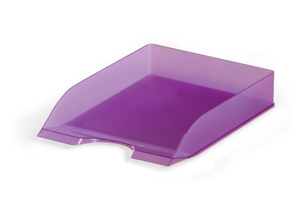 DURABLE Briefkorb Basic A4/C4 170167399 violett transp.