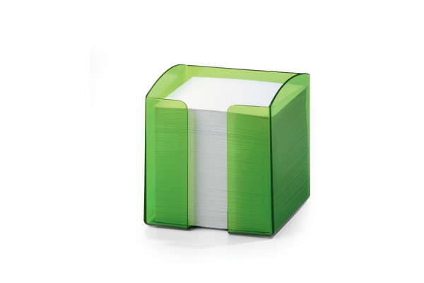 DURABLE Zettelbox Trend 90x90mm 170168201 grün-transp.