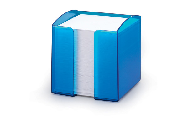 DURABLE Zettelbox Trend 90x90mm 170168254 blau-transp.