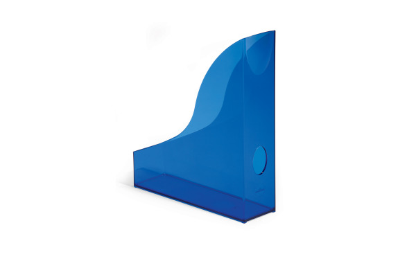 DURABLE Stehsammler Basic A4 170171254 blau-transp.