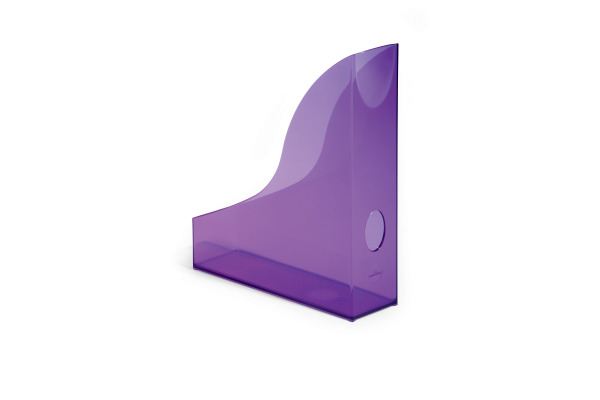 DURABLE Stehsammler Basic A4 170171299 violett transp.