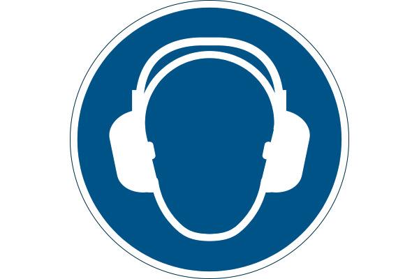 DURABLE Symbol -Gehörschutz Benutzen 172906
