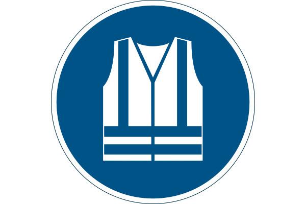 DURABLE Symbol -Warnweste Benutzen 173506