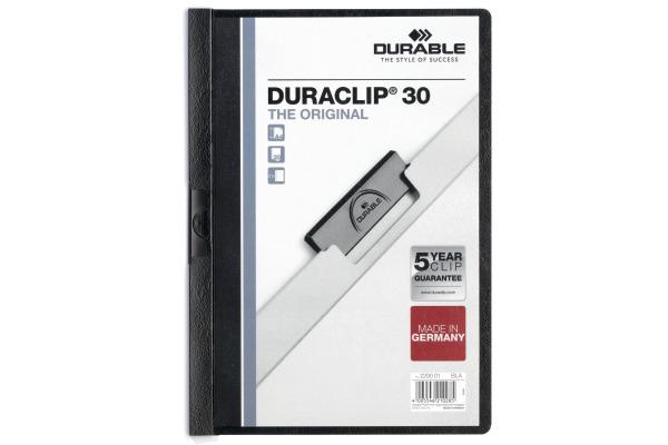 DURABLE Klemmhefter DURACLIP 30 2200/01 für 30...
